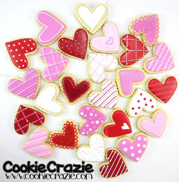 CookieCrazie: Valentines Day Cookie Decorating Ideas