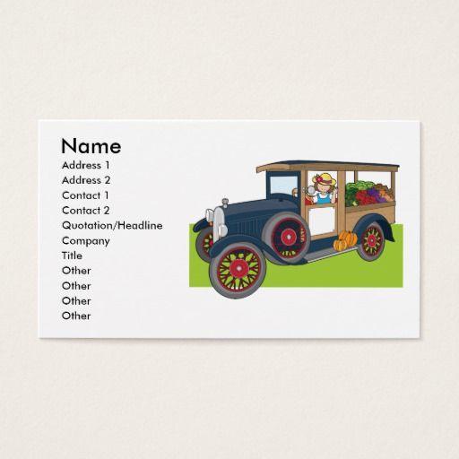 Veggie Truck Business Card