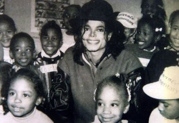 Michael and little Girls