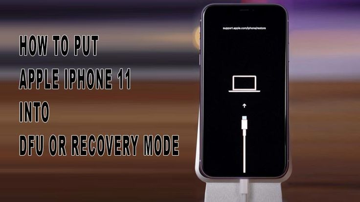 How to put apple iphone 11 into recovery mode easily in
