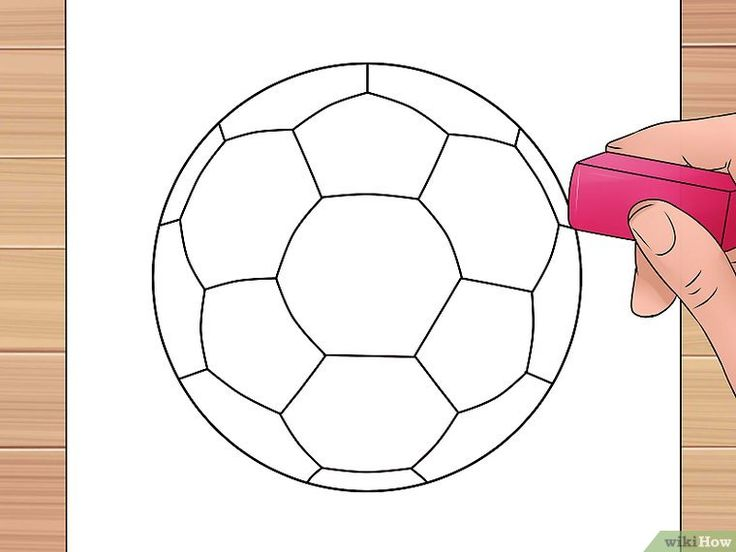 3 Ways to Draw a Soccer Ball - wikiHow