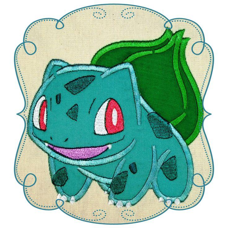 Pokemon Applique Character Designs
