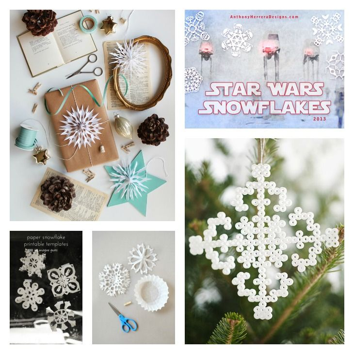 DIY Snowflakes Roundup || Very Shannon