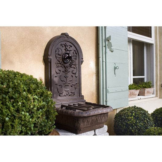 Fontaine en fonte renaissance fontaine pinterest for Deco jardin fonte