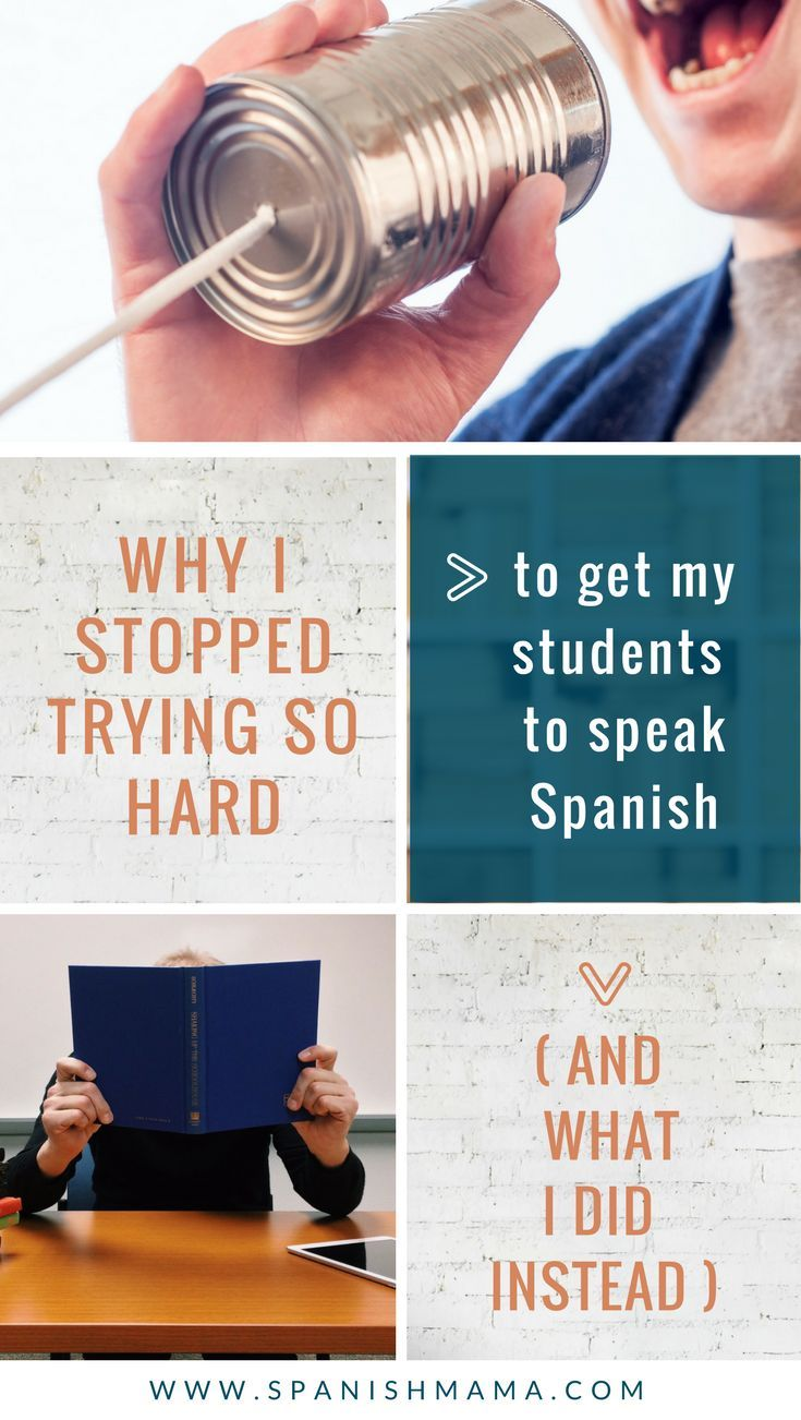 Shifting our thinking on speaking in the language classroom: tips and strategies to promote growth in proficiency and confident Spanish speakers.