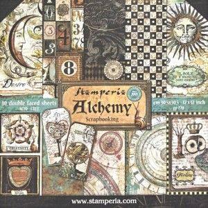 Stamperia  Alchemy 12x12x 10 listů 170 gr 228,- tvorilci