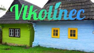 Colorful Vlkolínec, Slovakia. How to get there?