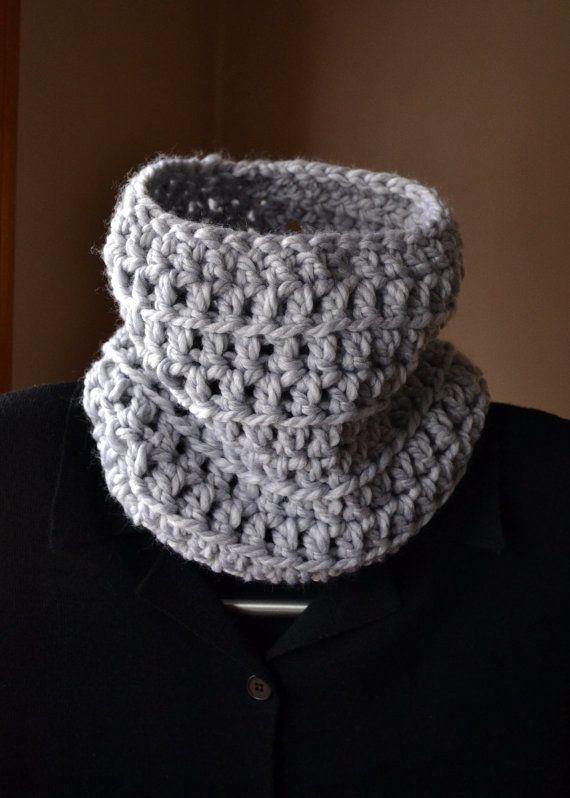 Fantastic Neck Cowl Crochet Pattern Embellishment - Easy Scarf ...