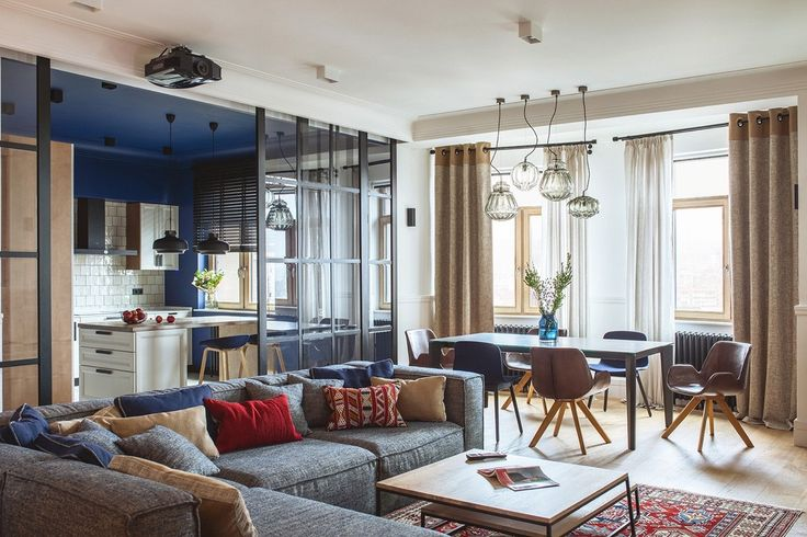 An Upscale Ukrainian Apartment for the Classy Homeowner