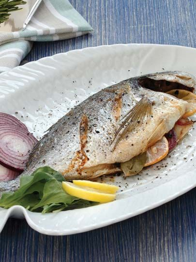 Limonlu ve soğanlı çipura Tarifi - Türk Mutfağı Yemekleri - Yemek Tarifleri