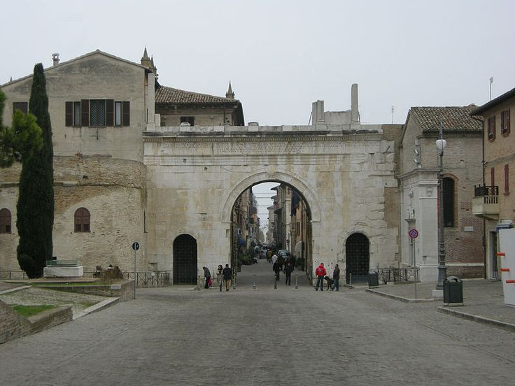 Arc of Augustus, Fano, Marche, Italy