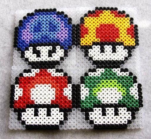 champignons Mario