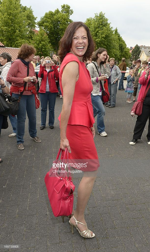 Angela Roy attends 1500th episode celebration event at Palais Hotel Bergstroem on May 31, 2013 in Luneburg, Germany.
