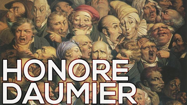 Honore Daumier: A collection of 196 works (HD)