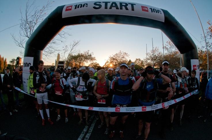 2012 TNF100 start line...