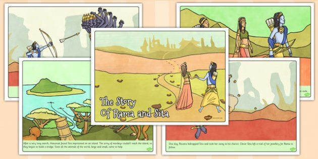 The Story of Rama and Sita Story - twinkl