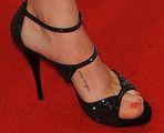 Amanda Seyfried Has a Dirty Word Tattooed to Her Foot - Amanda Seyfried Tattoo - Zimbio