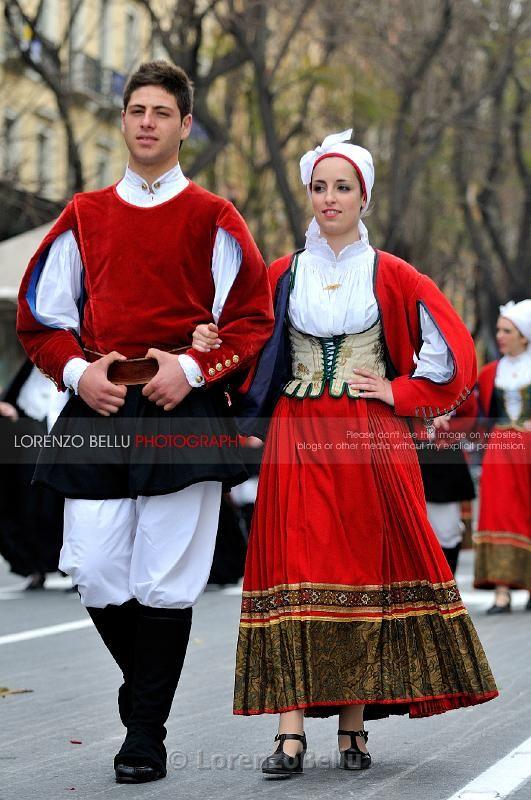 Costume of Tempio Pausania