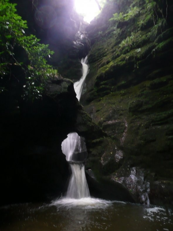 St Nectan's Glen - Healing Site for the Knights of King Arthur