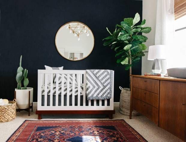Every Pinterest-Worthy Nursery We're Loving Right Now: Sophisticated Nursery