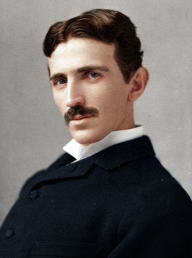 Nikola Tesla (Serbian Cyrillic: Никола Тесла; 10 July 1856 – 7 January 1943) was a Serbian American inventor, electrical engineer, mechanical engineer, and futurist best known for his contributions to the design of the modern alternating current (AC) electricity supply system.