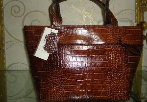 Brown leather bagsoft leather tote bag   women by Metinbags, $195.00