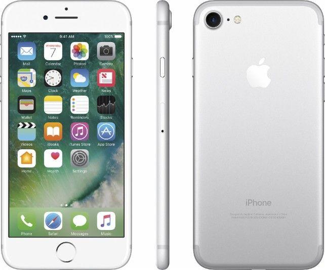 Apple - iPhone 7 32GB - Silver (Verizon Wireless) - AlternateView11 Zoom