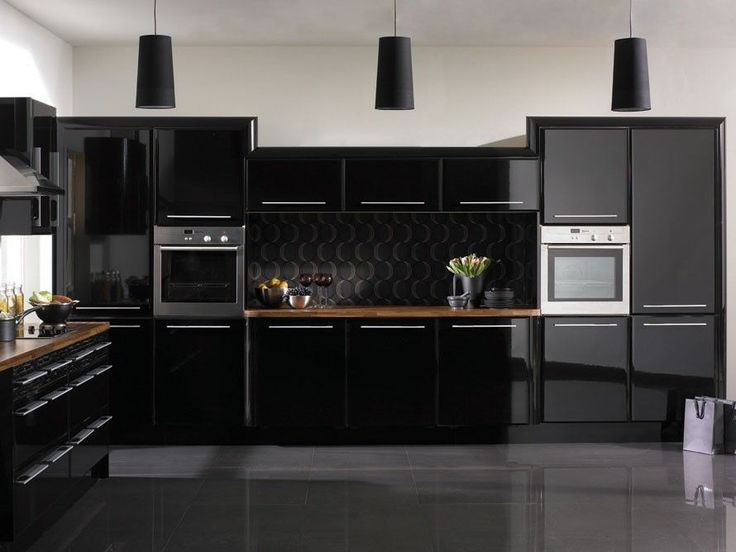 Details About Glossy Fablon Kitchen Units Cupboard Doors