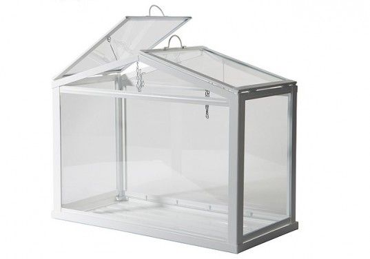 green design, eco design, sustainable design, IKEA, SOCKER, mini greenhouse, terrarium, indoor gardening