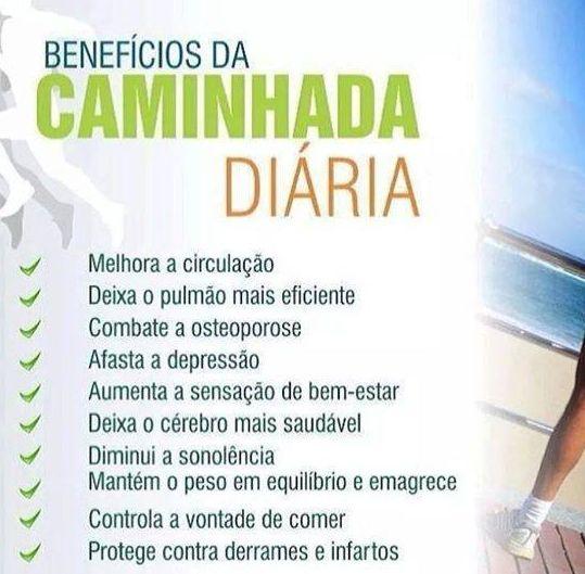 BENEFICIOS DA CAMINHADA