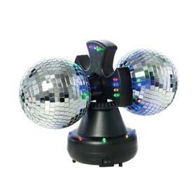 Rotating Mirror Ball with Lights