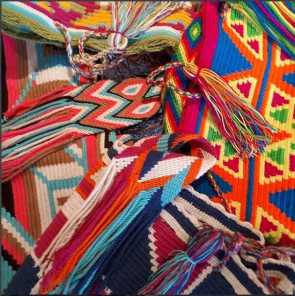 Original Wayuu Bags, a World of Colors  $80 CAD #wayuumochilas #wayuubags #wayuu #handmadebags #originaldesign #yycdowntown #yycfashionstylist #yyc #yycbags #tropicalvibes #tropicalvibesyyc #calgary #summervibes #MyTropicalVibesFollowingADream
