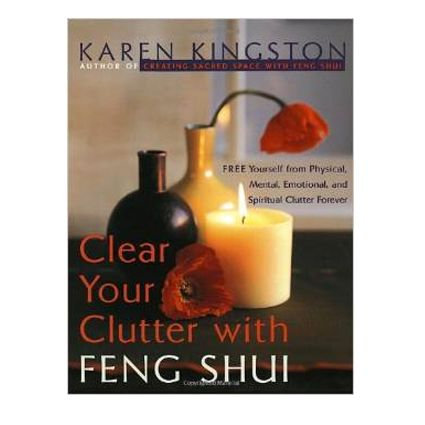 Clutter is trapped energy that has far-reaching effects physically, mentally, emotionally, and spiritually. The simple act of clearing clutter can transform your life by releasing negative emotions, generating energy, and allowing you to create space in your life for the things you want to achieve. In Clear Your Clutter with Feng Shui, Karen Kingston, pioneer of a branch of Feng Shui known as Space Clearing, expertly guides you through the liberating task of clutter clearing.