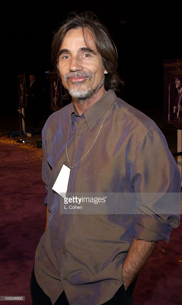 Jackson Browne at the premiere of 'Concert for George' a new documentary film celebrating