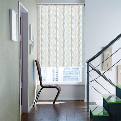 Ashford Teal Roller blinds