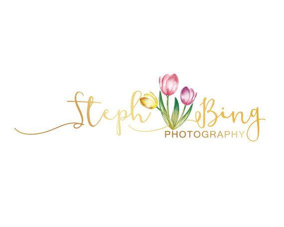 Floral Branding Kit Gold Branding Kit Custom by LoveArtsStudio