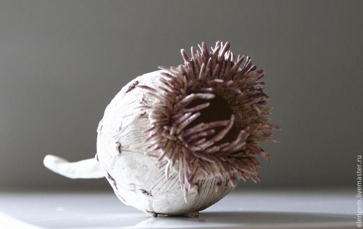 """Купить Керамика ручной работы """"Чертополох"""" - керамический сувенир, Керамика, керамика ручной работы"""