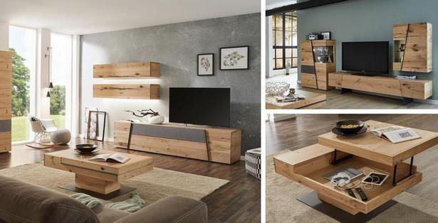 Wohnzimmer Mit Holzmoebeln Wohnzimmereinrichten25qm