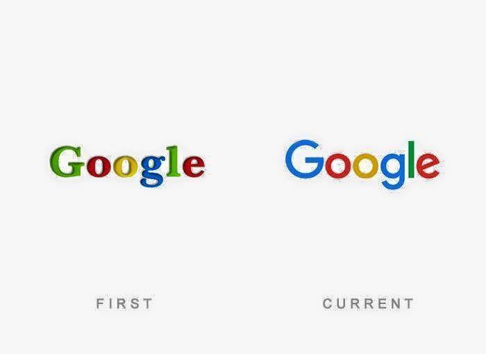 El primer y ultimo #logotipo de #Google hasta la fecha.