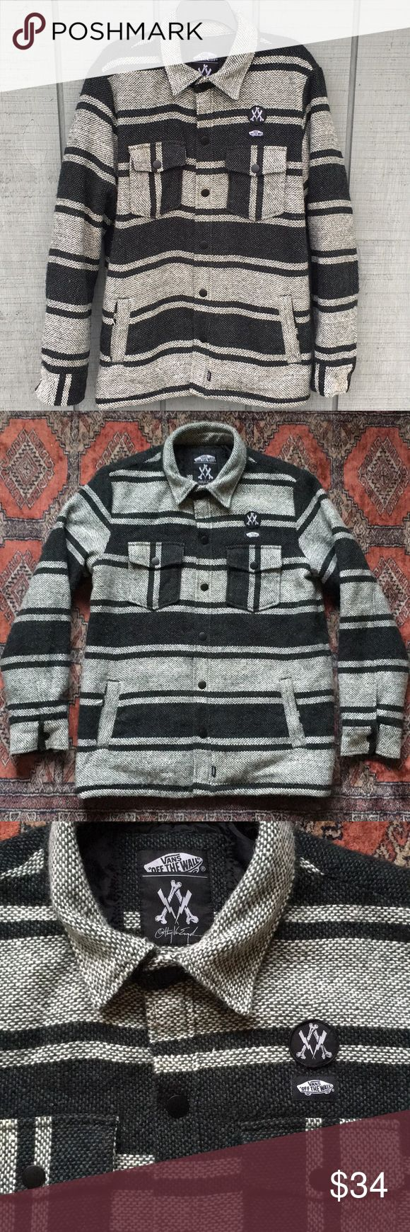 Van's Drug Rug Anthony Van Engelen EDITION Anthony Van Engelen edition Vans drug rug. Size Large. Great condition, see pictures! Very minor piling shows previous wear. Vans Jackets & Coats