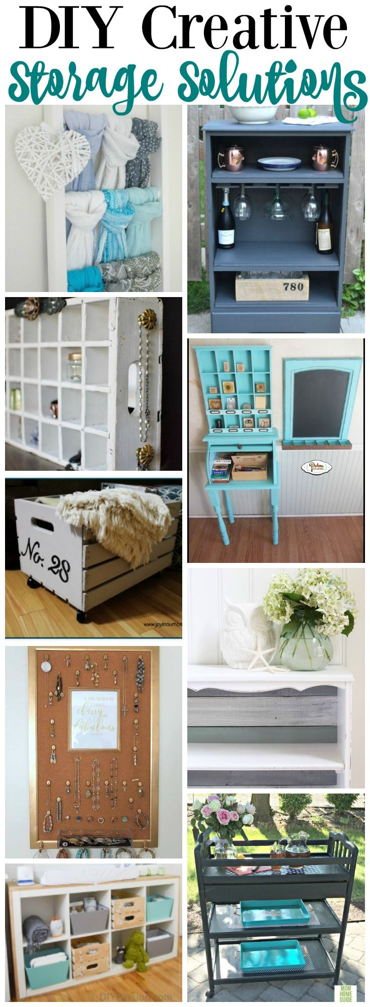 Who doesn't need more storage? All of these DIY super creative storage solutions are thrifty and unique ways to add some storage to your…