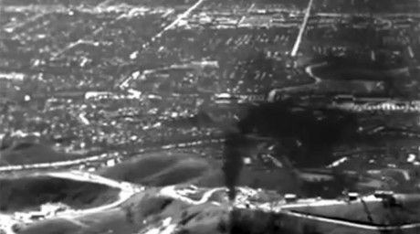 An infrared photo of the methane leak at Porter Ranch, an upscale community of gated developments in northwest Los Angeles. Methane is the main...