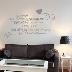 48 best stickers love images on pinterest decals sticker and stickers. Black Bedroom Furniture Sets. Home Design Ideas
