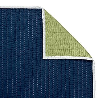 Navy/Clover Cabin Quilt | Serena & Lily- Quilt- $180 for twin