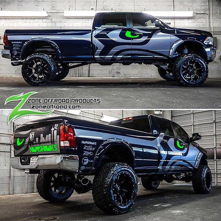 Seattle Dodge: 20 Best Seahawks Wraps Images On Pinterest