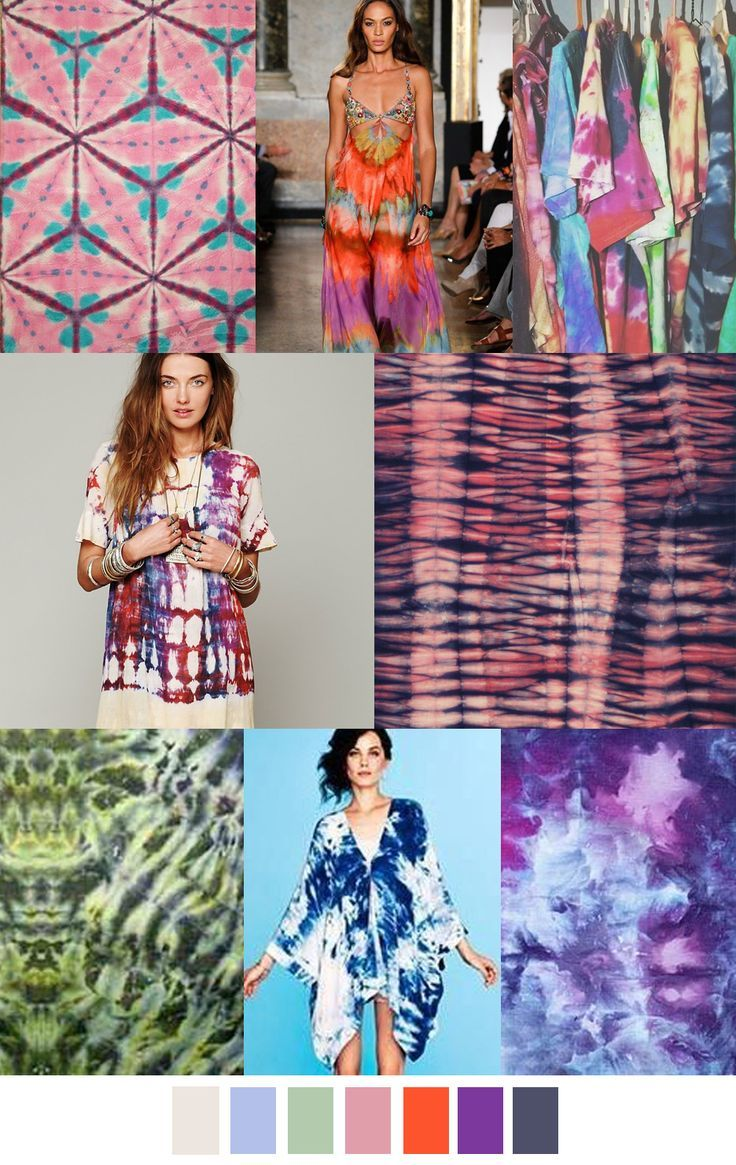 TO DYE FOR - TRENDS - S/S 2017 | COLORS: Rainbow & Multi ...