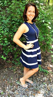 C.Luce Izzy Striped Dress Pieces of Me: Stitch Fix Review July 2015 and Giveaway!