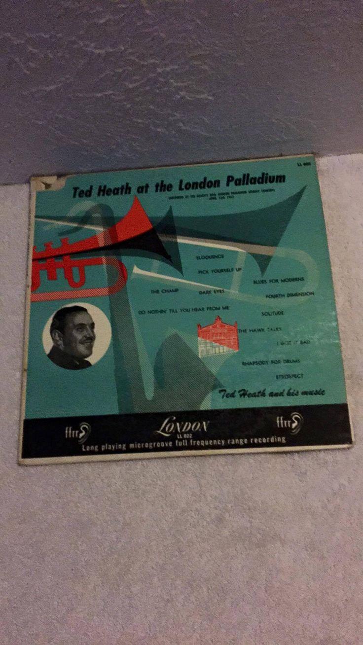 Ted Heath at the London Palladium 1953 LP LL 802