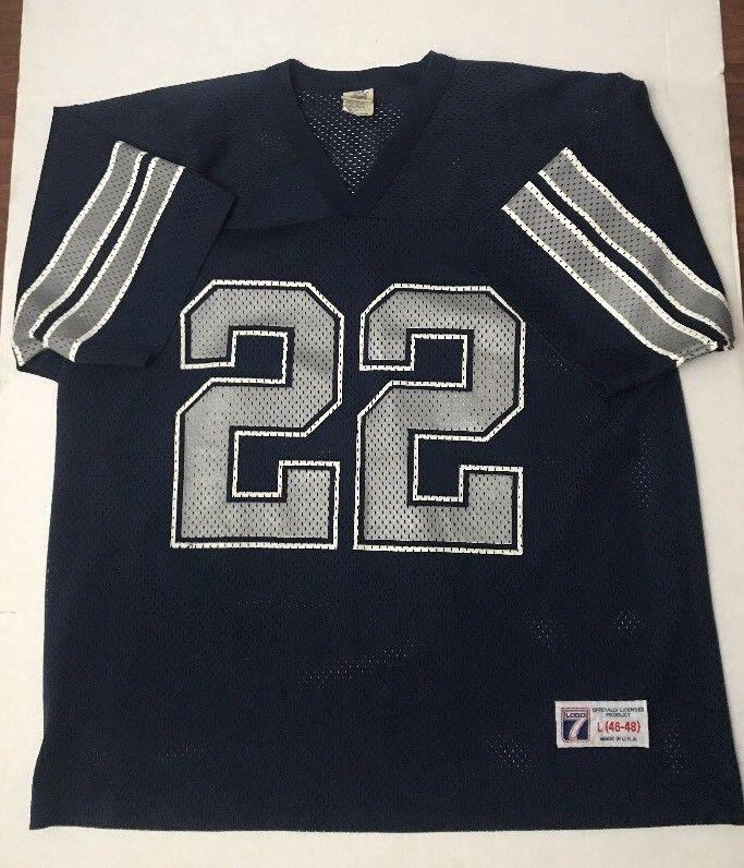 brand new d3696 64e30 Dallas Cowboys NFL #22 Jersey USA Vintage Emmitt Smith Size ...