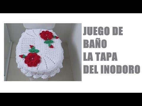Juego de Baño Tejido al Crochet / Video Tutorial Completo | Crochet y Dos agujas